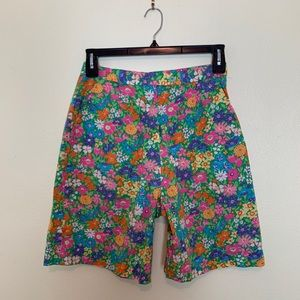Lilly Pulitzer | 80's High-Waisted Mom Shorts